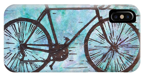 Bike 8 Phone Case by William Cauthern