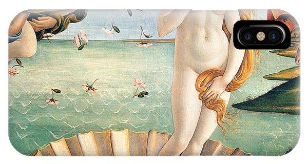 Botticelli iPhone Case - Birth Of Venus by Sandro Botticelli