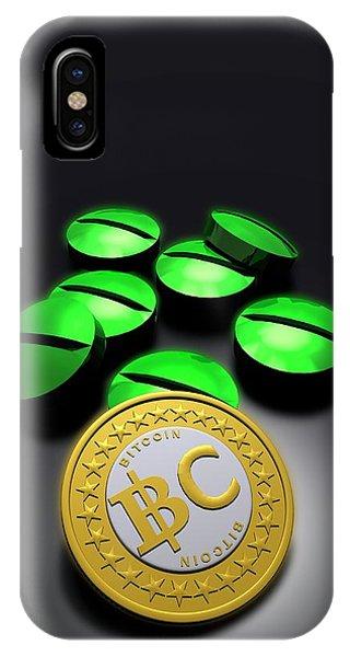 Bitcoin And Medicine IPhone Case