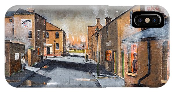 Black Country Village From The Boat Yard IPhone Case