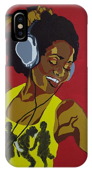 Blame It On The Boogie IPhone Case