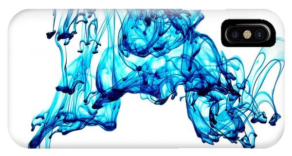 Blue Descent IPhone Case