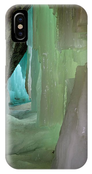 Blue Green Ice IPhone Case