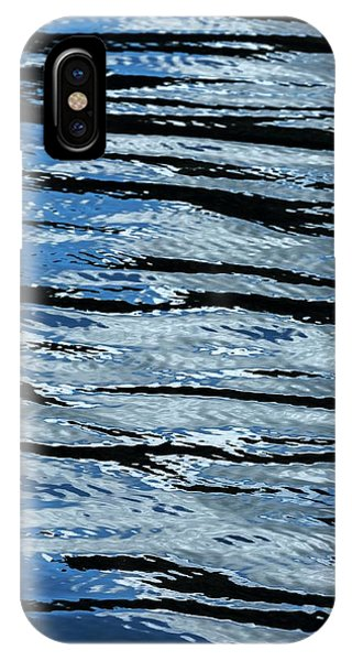 iPhone Case - Blue Rippled Water Of British Columbias by Macduff Everton