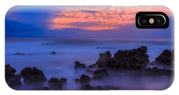Blue Sunrise 1 IPhone Case