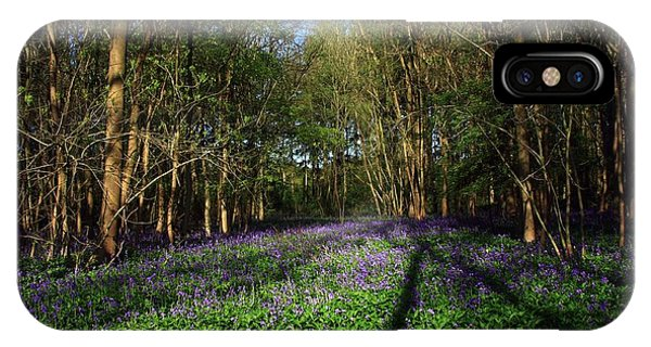 IPhone Case featuring the photograph Bluebells by Jeremy Hayden