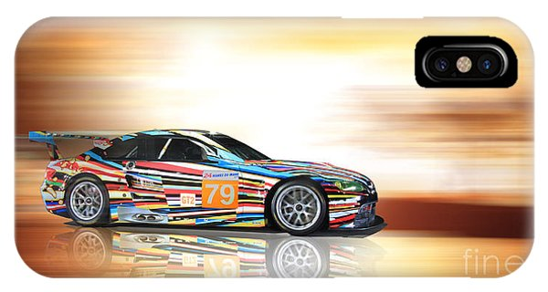 Bmw M3 Art Car IPhone Case