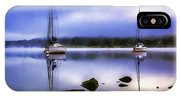 Boats On Ullswater IPhone Case