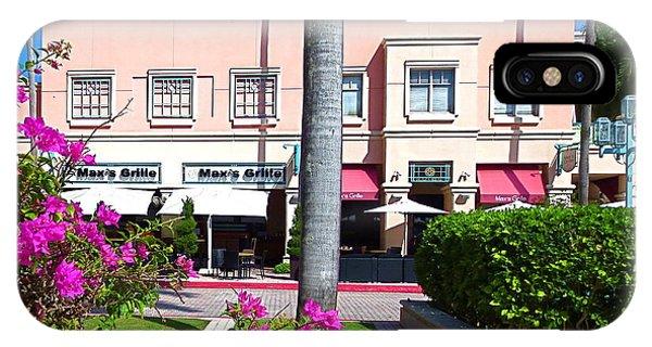 Boca Raton Florida Mizner Park Maxs Grill Restaurant Photograph