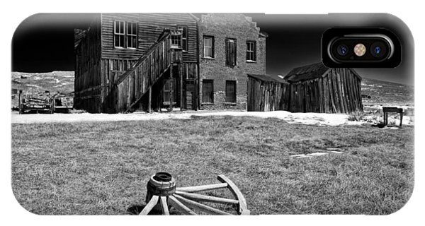 Bodie Ghost Town iPhone Case - Bodie by Cat Connor