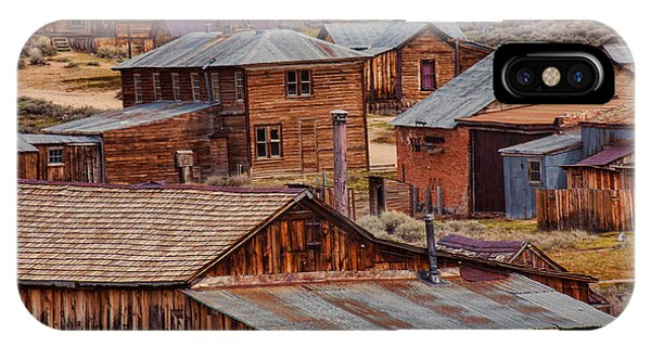 Bodie Ghost Town iPhone Case - Bodie Ghost Town by Garry Gay