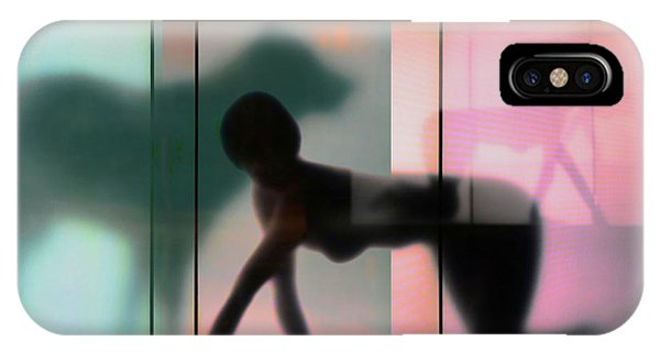 Teal iPhone Case - Body Language 23 by Igor Shrayer