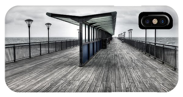 Bournemouth iPhone Case - Boscombe Pier - Bournemouth by Joana Kruse