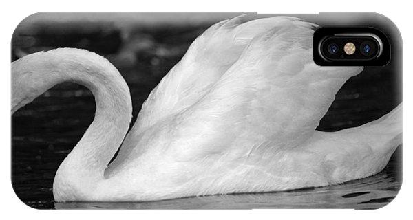 Boston Public Garden Swan IPhone Case