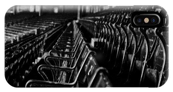 Bostons Fenway Park Baseball Vintage Seats IPhone Case