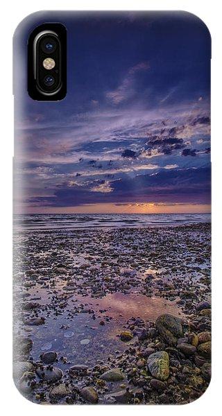 Bound Brook Sunset IPhone Case