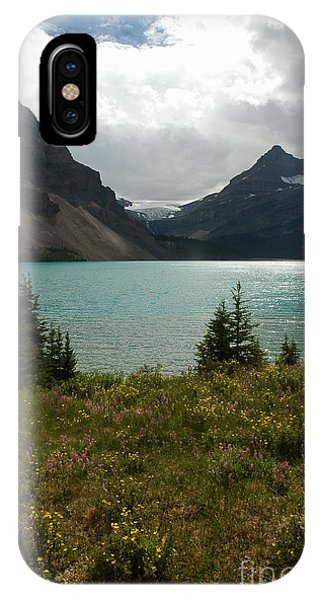 1010a Bow Lake Alberta IPhone Case