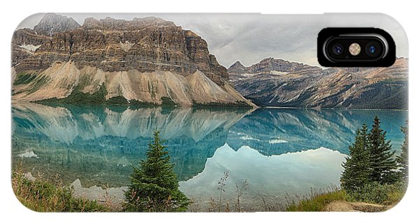 Bow Lake Banff National Park IPhone Case