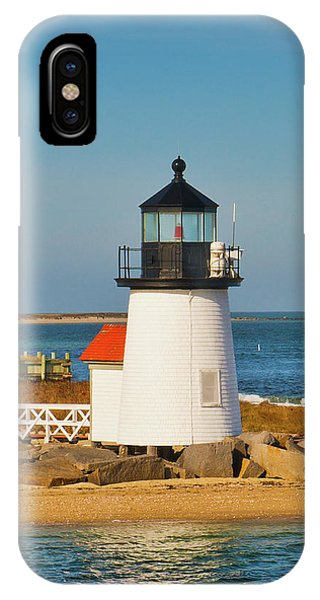 Brant Point Lighthouse Nantucket IPhone Case