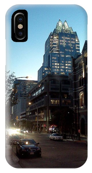 Brazos Street Austin Texas IPhone Case