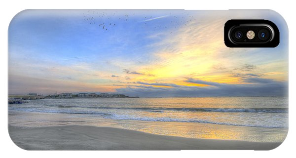 Breach Inlet Sunrise IPhone Case