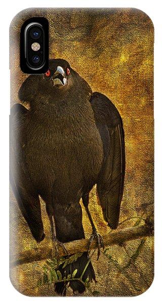 Bronzed Cowbird IPhone Case