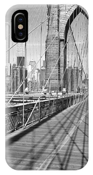 Brooklyn Bridge Manhattan New York City IPhone Case