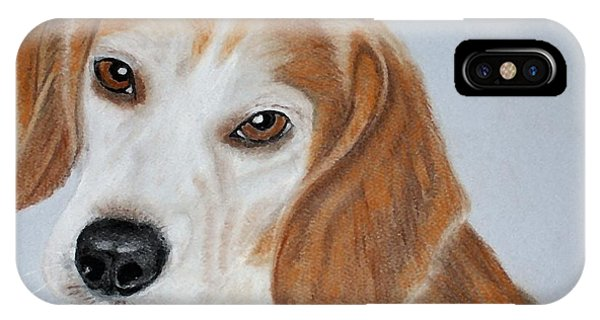 Brown Eyed Girl IPhone Case