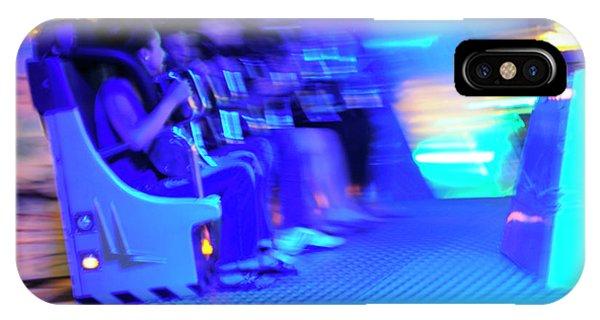 Funfair iPhone Case - Brussels Funfair by Eka/eurekaslide/reporters/science Photo Library