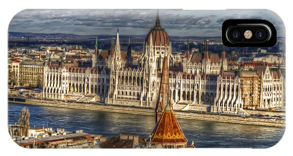Buda Parliament  IPhone Case