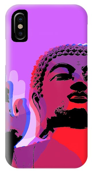 Buddha Pop Art - Warhol Style IPhone Case