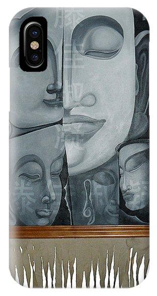 Buddish Facial Reactions IPhone Case