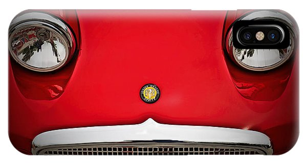 Austin iPhone Case - Bug Eyed Sprite by Douglas Pittman
