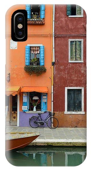 Burano Italy IPhone Case