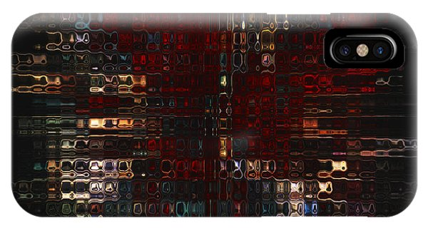 Visual Illusion iPhone Case - Burst  by Jack Zulli