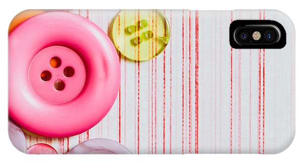 Colorful iPhone Case - Buttons by Tom Gowanlock