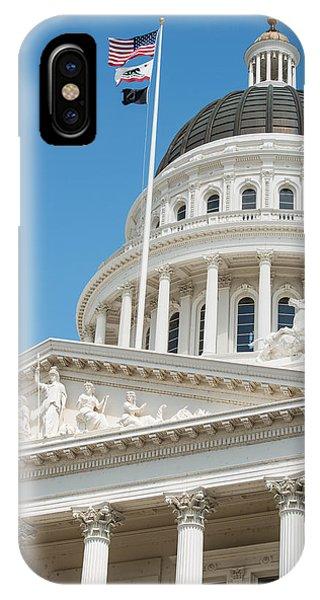 California State Capitol In Sacramento IPhone Case