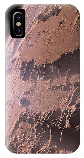 Canyons On Mars Phone Case by Detlev Van Ravenswaay
