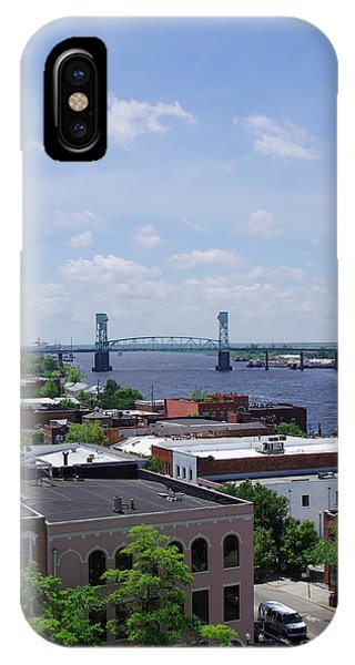 Cape Fear Memorial Bridge IPhone Case