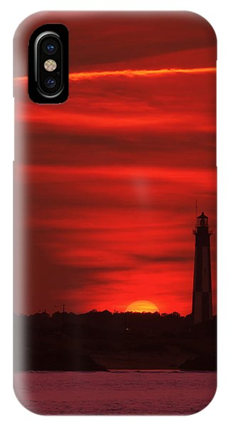 Cape Henry Lighthouses  IPhone Case