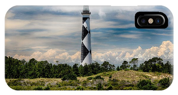 Cape Lookout Lighthouse IPhone Case