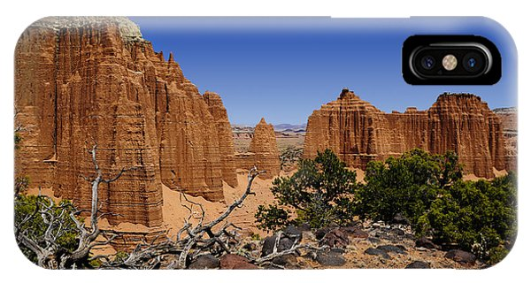 IPhone Case featuring the photograph Capital Reef by Don and Bonnie Fink