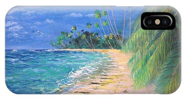 Caribbean Landscape IPhone Case