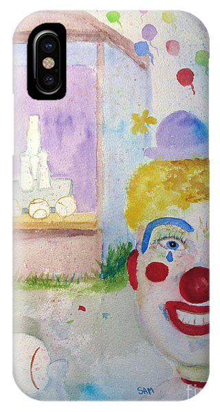 Carrie The Clown IPhone Case