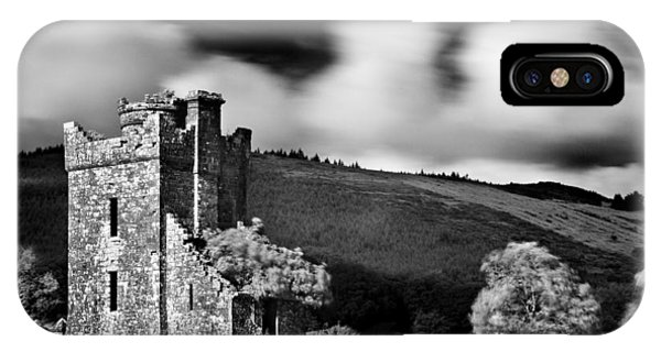 IPhone Case featuring the photograph Castle Ruins / Ireland by Barry O Carroll