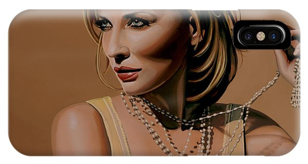 Dive iPhone Case - Cate Blanchett Painting  by Paul Meijering