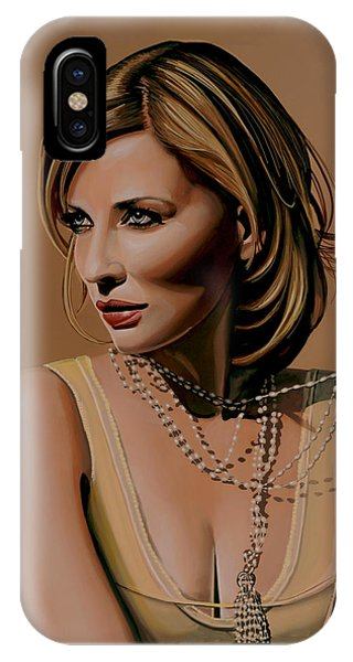 Elf iPhone X Case - Cate Blanchett Painting  by Paul Meijering