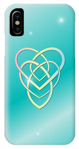 Celtic Motherhood Knot IPhone Case