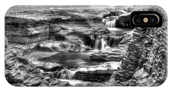 Central Cascade Watkins Glen IPhone Case