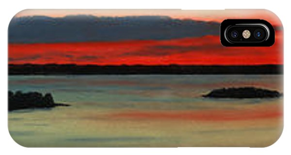 Chambers Island Sunset II IPhone Case